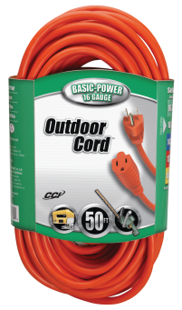 50-Ft. 16/3 Outdoor Heavy Duty Extension Cord (5912514) (02308) product image.