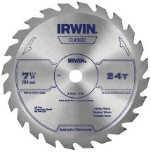 7-1/4-In. 24T Circular Saw Blade product image.