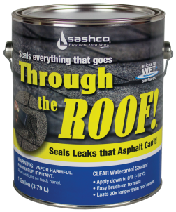 1-Gal. Through the Roof Sealant product image.