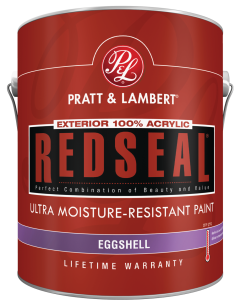 1-Gal. RedSeal® Eggshell Exterior Latex Alkali and mildew resistance. Outstanding color retention. Exceptional durability. Low VOC. (3032380) (Z1891) product image.