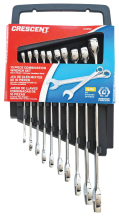 10-Pc. Combination SAE Wrench Set (4445839) product image.