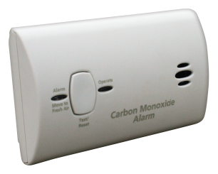 Battery Operated CO2 Alarm product image.