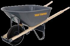 6-Cu. Ft. Steel Wheelbarrow product image.