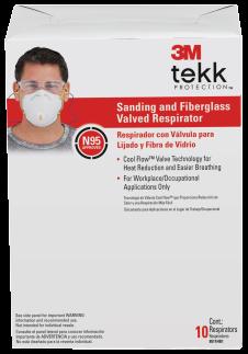 20-Pk. Sanding And Fiberglass Respirator product image.
