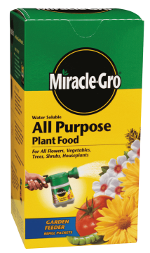 Miracle Gro Water Soluble All-Purpose Plant Food product image.