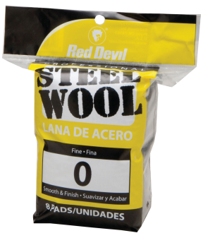 8-Pack #0 Steel Wool Pads product image.