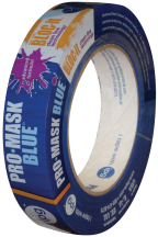 .94-In. x 60-Yd. Pro-Mask Blue Masking Tape Painter's masking tape with special adhesive that provides clean removability. (6029169) (9531-1) 1.41-In. x 60-Yd. (6029177)(9532-1.5) 4.49 1.88-In. x 60-Yd. (6029185)(9533-2) 5.99 product image.