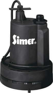 Geyser II Sump Pump 1/4 HP. Open impeller design prevents clogging. 1-1/4-In. discharge. Internally molded flow control. (5327721) (2305) product image.