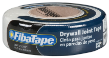 2-In. x 300-Ft. Drywall Joint Tape Self-adhesive, fiberglass, drywall and joint tape stronger joints saves time in application and drying, eliminates blisters and bubbles. (6001895) (FDW8665-U) product image.