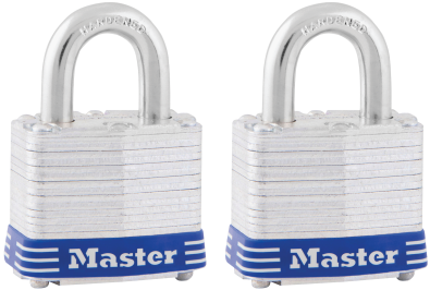 1-1/2-In. Laminated Maximum Security Padlocks Two keys included, fit both locks. (4834776) (3T) product image.