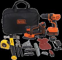 20V Stanley Black & Decker Project Kit (9999418) (BDPKSBD20DMS) product image.