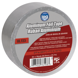 2-In. x 50-Yds. Aluminum Foil Tape (1046317) (9202) product image.