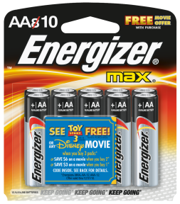 Energizer® Max® Alkaline Batteries Ideal for electronic devices, Energizer brand provides long-lasting power you can count on. (5804547) (E91BP-8F2) product image.