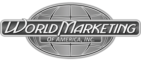 WORLD MARKETING logo.