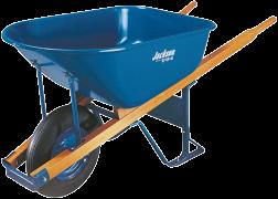 6-Cu. Ft. Jackson® Contractor Wheelbarrow product image.